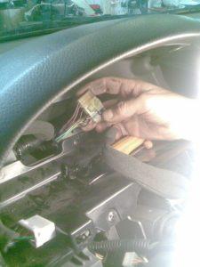 Chevrolet Lacetti műszerfal világítás