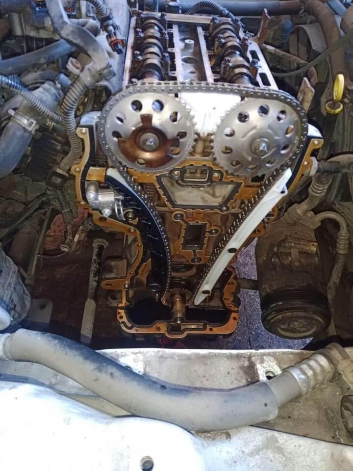Opel Astra vezérműlánc csere