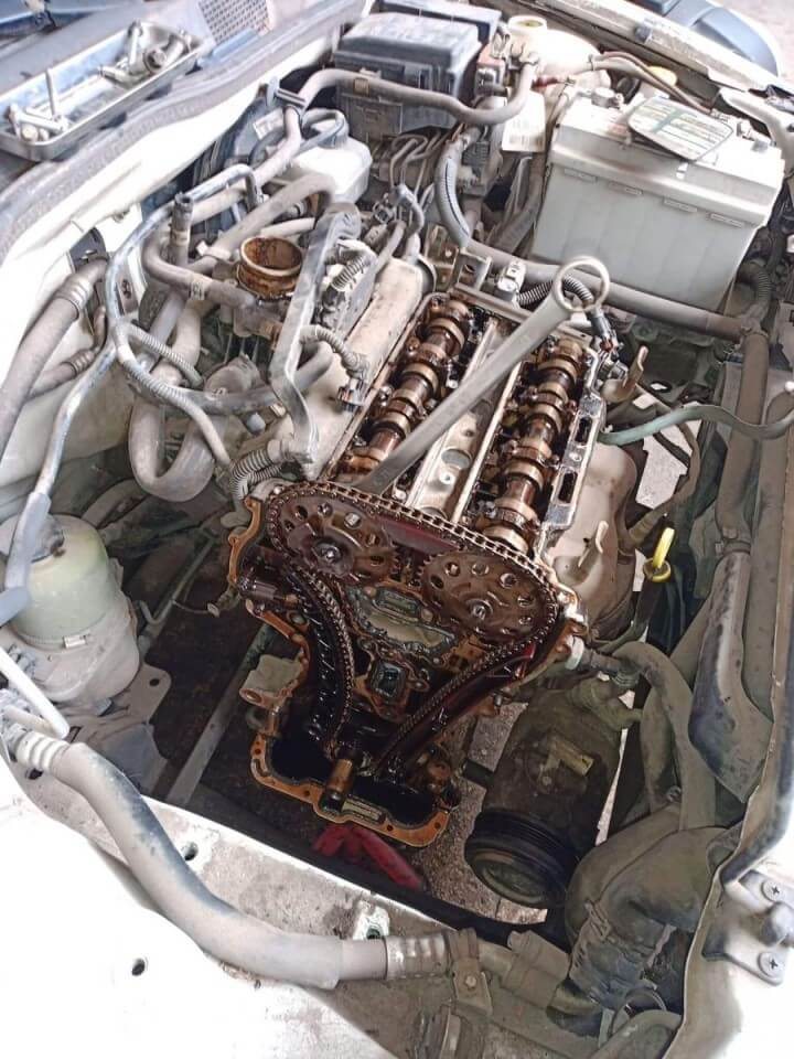 Opel vezérműlánc csere