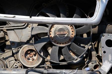autó hűtőventillátor hibái