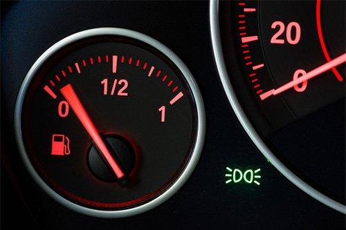 Megnövekedett üzemanyag fogyasztás